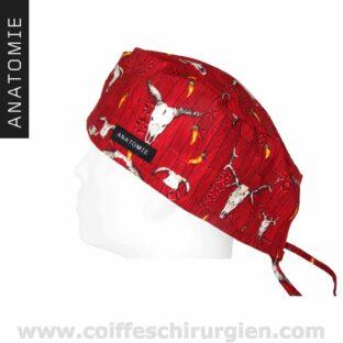 Calot Chir Anatomie Rouge De L'Ouest - ANA046