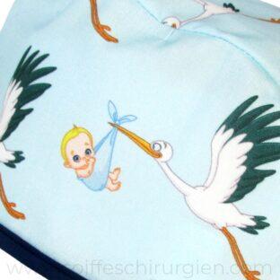 calot-chirurgicaux-reproduction-cigognes-bebes-bleu-805