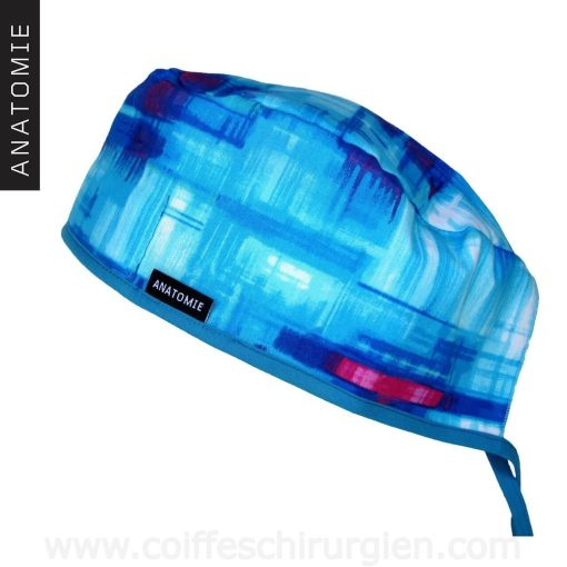 Calot Chirurgien Abstrait Bleu - AH0119