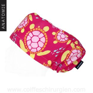 Calot Chirurgien Tortues Rose - AM1118