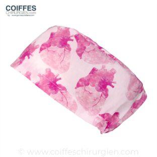 Calots Chirurgie Coeur rose aquarelle - 391