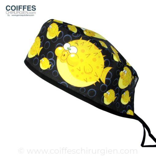 Calots Chirurgie poisson-globe jaune - 858