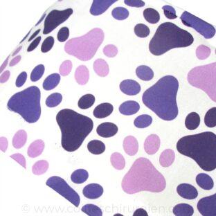 calots-chirurgien-veterinaires-tissu-empreintes-purple-335