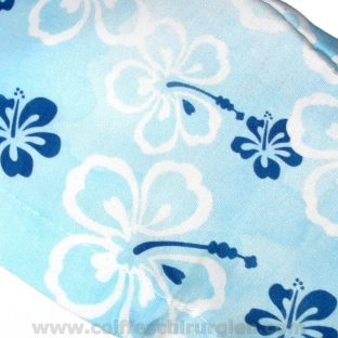 Calots Chirurgiens Bleus Fleurs Aquarelle Hawaii - 385