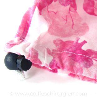 Calots Chirurgiens Coeur rose aquarelle - 391