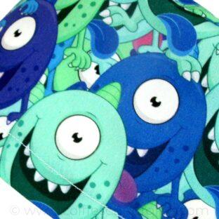 Calots Chirurgiens Monstres bleus yeux écarquillés - 377