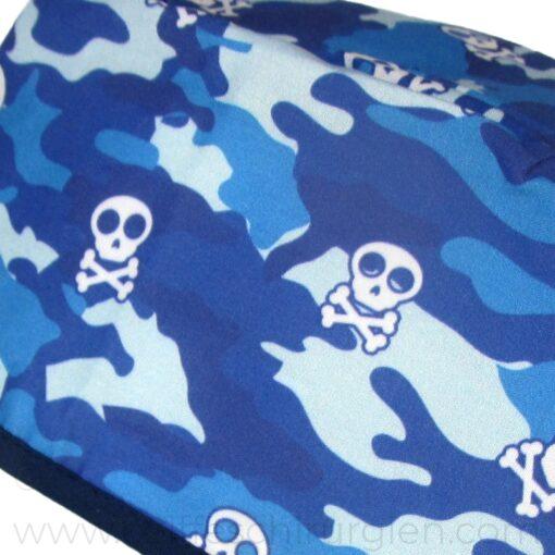 Calots Chirurgiens Skulls Camouflage bleu - 854