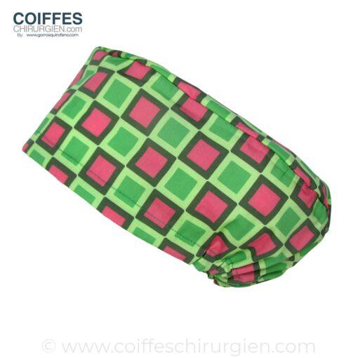 calots-de-bloc-chirurgie-femme-carres-roses-et-verts-230