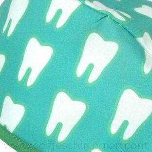 calots-dentaire-tissus-bloc-molaire-vert-757