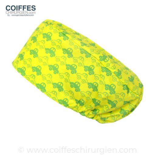 calots-pour-chirurgiens-voitures-vert-jaune-197