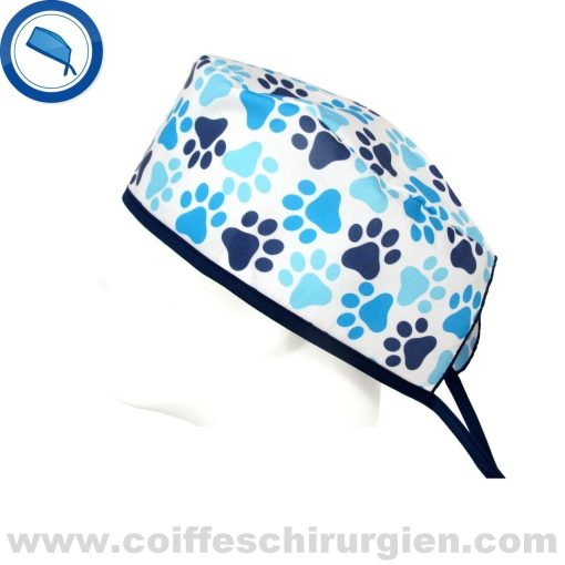 calots-veterinaire-fantaisie-empreinte-chien-bleu-759