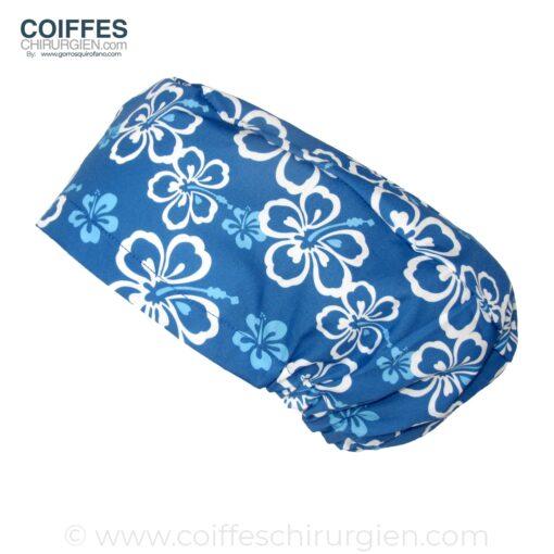 Calots chirurgicaux bleus Hawaii Cheveux longs 183