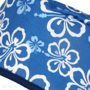 Calots de Chirurgie Bleus Fleurs Hawaï 686