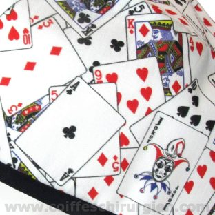 Calots de Chirurgien Lettres de Poker Blackjack - 839