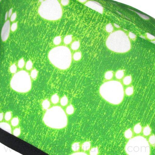 Calots de Chirurgiens Empreintes vert néon - 851