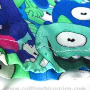 Calots pour Chirurgiens Monstres bleus yeux écarquillés - 377