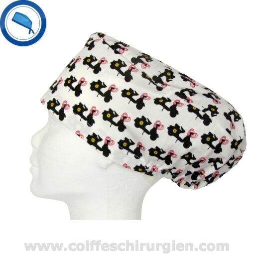 Coiffes Chirurgien Moto Vespa Pop Blanc Rose - Femme